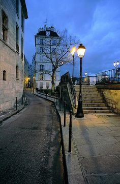 Paris... rue des Ursins - Paris 4e