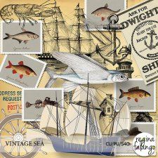 Vintage Sea 1 by Reginafalango cudigitals.com cu commercial scrap scrapbook digital graphics#digitalscrapbooking #photoshop #digiscrap #scrapbooking