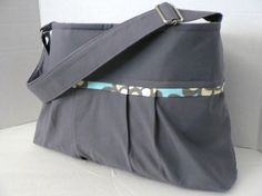 I absolutely love this bag!!! Looking forward to getting mine!!!      The Monterey Bag  Small  In Slate And Amy Butler by BagEnvy, $55.00