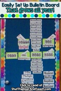 Learn 3 great ways to make your upper elementary word wall interactive! Reading Lesson Plans, Reading Lessons, Writing Lessons, Writing Skills, Vocabulary Wall, Teaching Vocabulary, Teaching Writing, Teaching Ideas, Expository Writing