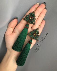 Diy Lace Earrings, Diy Earrings Dangle, Tatting Earrings, Tatting Jewelry, Tassel Jewelry, Crochet Earrings, Needle Tatting, Tatting Lace, Tatting Tutorial