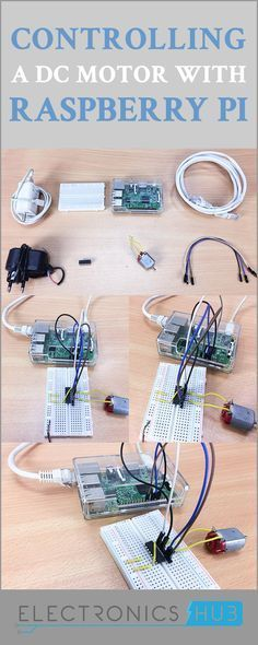 The main principle in controlling a DC Motor with Raspberry Pi lies with the Motor Driver.
