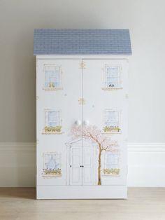 Luxury Children's Furniture & Interiors | Dragons of Walton Street | Dolls House Book Cupboard