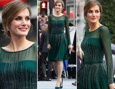 Una perfecta princesa de Asturias, en una de sus apariciones públicas