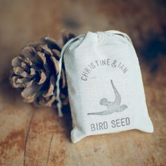 Bird seed - an eco friendly alternative to confetti | onefabday.com