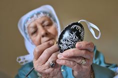 Ludmila Vlasakova, wearing traditional costume decorates Easter eggs in Vacenovice, South Moravia, Czech Republic Easter Monday, Easter Weekend, Holiday Dates, Bank Holiday, Good Friday, Easter Eggs, Key Bank, Czech Republic, Fashion History