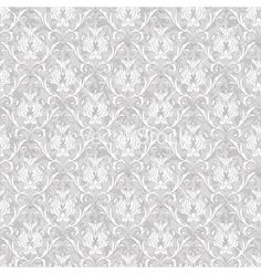 Wedding invitation background - vintage Victorian seamless pattern vector graphic