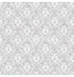 Wedding invitation background - vintage Victorian seamless pattern vector graphic