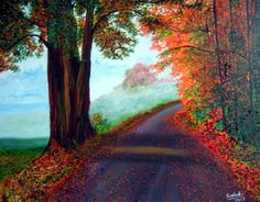 Painting for sale Awesome Autumn painting art sale realism landscape paintings