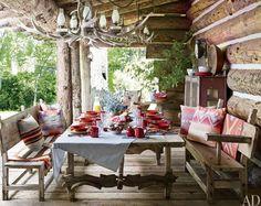 RL cabin patio