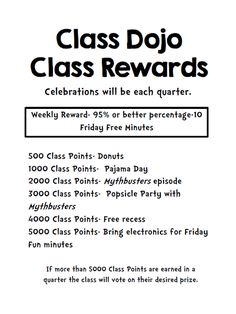 Class Dojo for Rewards-This Elementary Life blog