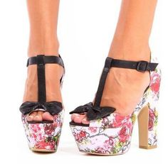 Sexy Floral high heels