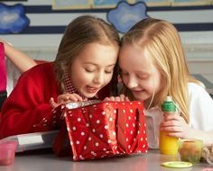 Kids like to share lunches, but for children with food allergies, this can be a…