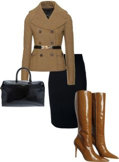 """""""brown"""" by settingmoon on Polyvore"""