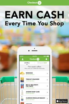 Checkout 51 is the free app that helps you cut down on your grocery bill. Simply download the Checkout 51 app, browse the offers, upload your receipt and you'll earn cash back. Best of all you can use it to buy products on offer at any store including Walmart, Costco, Target and Safeway.