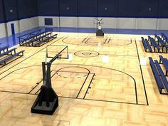 Indoor Basketball Court Building Tips for Your Home - http://www.designingcity.com/indoor-basketball-court-building-tips-home/