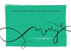business holiday cards - Overflowing Merry by Frooted Design