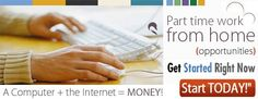 part time work from home jobs for you