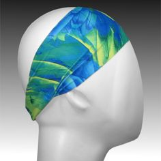 Light Performance Spandex Headband by Ponya Bands in Birds of a Feather | ponyabands.com