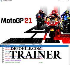 MotoGP 21 PC Oyunu Para, Motor CT Trainer Hilesi İndir Cheat Engine, Motogp, Cheating, Trainers, 21st, Darth Vader, Racing, Game, Tennis