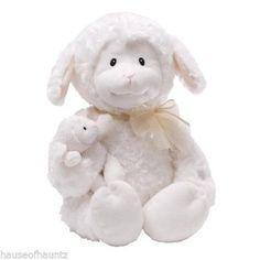Nursery Rhymes Recite Stuffed Lamb Baby Crib Toy Crib Teddy Bear Sound Storybook #GUND