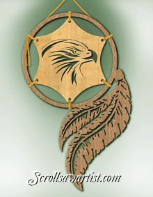 Scroll Saw Patterns :: Native American & Southwestern :: Loose-framed projects -