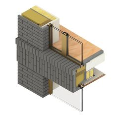 Construction Design, Construction Materials, Brick Works, Working Drawing, Brick Design, Detailed Drawings, Technical Drawing, Building Materials, Facades