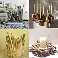 Denver Wedding Planners, Colorado Wedding and Event Planning Driftwood Projects, Driftwood Art, Diy Projects, Driftwood Ideas, Beach Crafts, Diy Crafts, Wooden Crafts, Decoration Ikea, Decorations