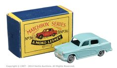 Matchbox Regular Wheels No.36A Austin A50   Vectis Toy Auctions