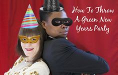 A green New years party