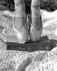 Ballet and a book, lovely!