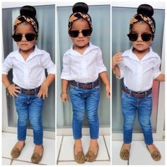 | Modest Maintenance |. 34 Babies Who Are Killing The Fashion Game....This would be my child!!! #truth
