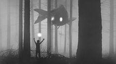 Mysterious Dark Illustrations by Dawid Planeta