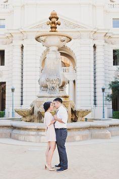 Pasadena City Hall Engagement Photos