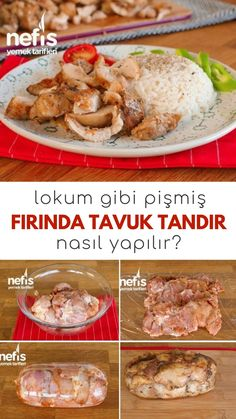 Soft Baked Chicken Tandoori with Delight Like Turkish Delight (Video) - Delicious Recipes - Video Description How to Make Turkish Tandoori with Delight Like Baked Chicken with Video (With Video) Recip Oven Chicken, Baked Chicken, Chicken Recipes, Turkish Delight, Turkish Recipes, Italian Recipes, Italian Chicken Dishes, Iftar, Wrap Sandwiches