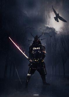 MURAMASA - 河内 爽一 #manipulation #Photoshop #samurai