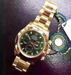 New Rolex Daydona!#watch #watches #rolex #rolexwatch #rolexdaytona #swiss #swissmade #swisswatch #gold #luxury #baselworld #baselworld2016 by xini__wiii #rolex #daytona #rolexdaytona #watchesformen