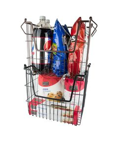 Dii has simple and effective storage solutions for any room in the home. Organize your kitchen or bathroom cabinets, the pantry closet, or office with stackable metal storage containers. These metal bins will help declutter your home in an instant.