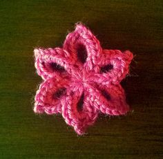 Free Crochet Flower Pattern