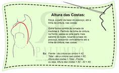 Ateliê de costura - Raíssa Palumbo: CURSO CORTE E COSTURA - MÓDULO I.1 - CONHECENDO MEDIDAS FEMININAS