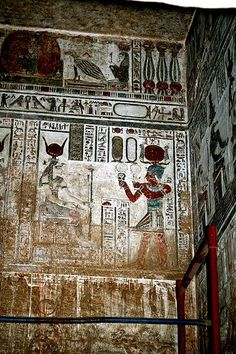Ancient Egypt. The Temple of Hathor at Dendera ...Steve F-E-Cameron