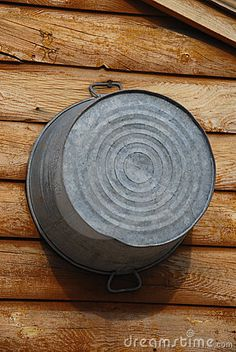 who can remember bathing in an old washtub like this when you were younger?