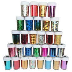 12pcs Nail Art Transfer Foil Sticker Paper DIY Beauty Polish Design Stylish Nail Decoration Tools 66colors Options