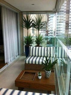 Fabulous Fall Apartment Balcony Decorating Ideas That Looks Modern - Apartment - Balcony Furniture Design Condo Balcony, Small Balcony Decor, Small Balcony Design, Glass Balcony, Apartment Balcony Decorating, Outdoor Balcony, Apartment Balconies, Cool Apartments, Small Patio