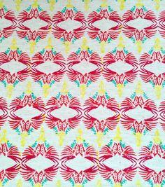 Linen Parrot Print Table Cloth
