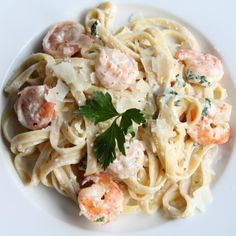 low fat shrimp fettucine alfredo
