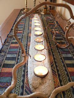 Driftwood driftwood candle wedding gift by FlotsamJetsamCrafts, $40.00