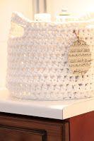 Crochet Projects, Crochet Patterns, Knitting, Crochet Baskets, Diy, Crocheting, Crochet, Tricot, Bricolage
