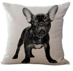 Frenchie & Bulldog Pillow