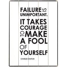Failure Is Unimportant//